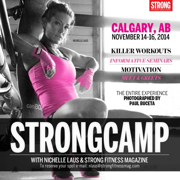 STRONGCAMP Nichelle Laus